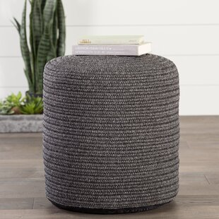 Espada Corinth Outdoor Ottoman with Cushion by Bungalow Rose