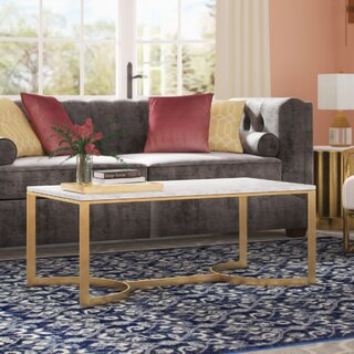 Ariana Coffee Table with Tray Top by Mercer41 SKU:AD794486 Buy