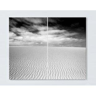 Dune Motif Magnetic Wall Mounted Cork Board By Ebern Designs