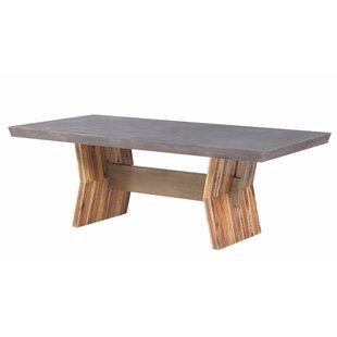 Brayden Studio Dusek Concrete Dining Table