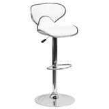 Marlon Swivel Adjustable Height Bar Stool by Wade Logan®