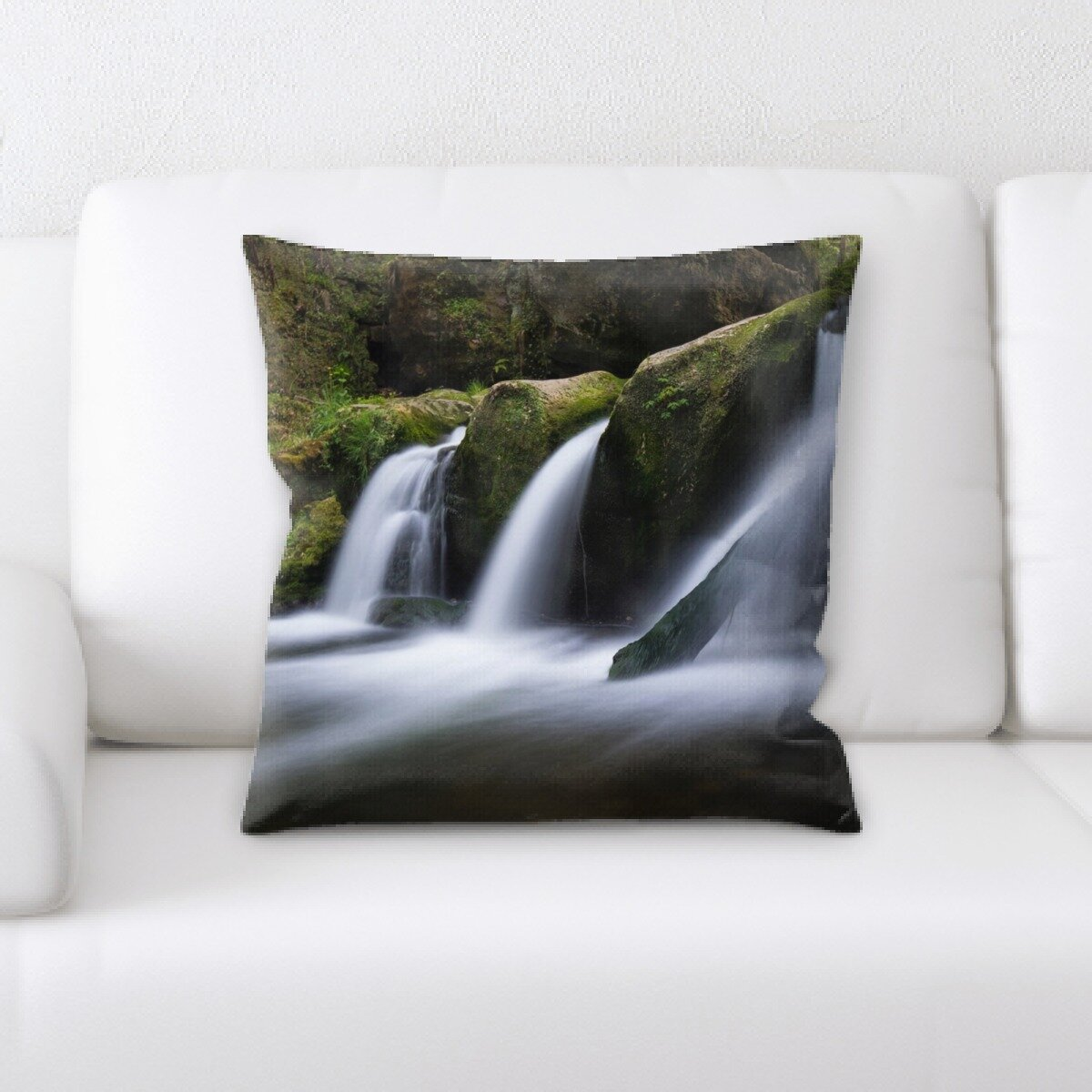 Rug Tycoon Waterfall Throw Pillow Wayfair