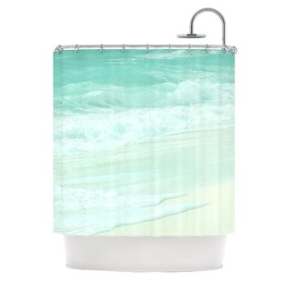 Beach Single Shower Curtain