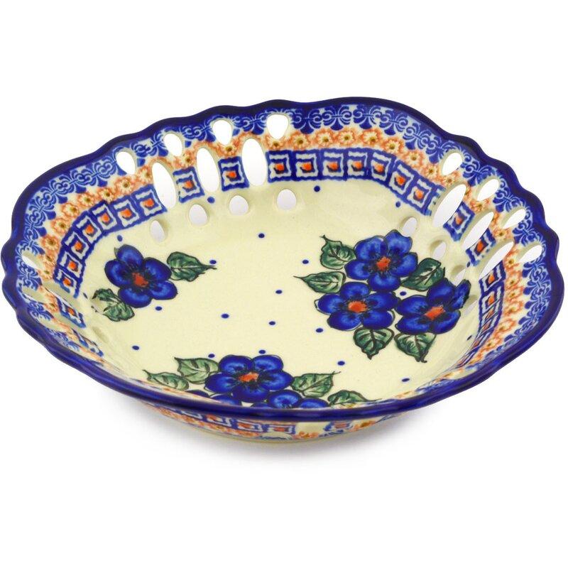 Polmedia Polish Pottery 2 2 Fl Oz Serving Bowl Wayfair