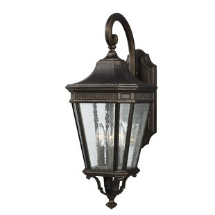 Darby Home Co Chilhowee 3-Light Outdoor Wall Lantern