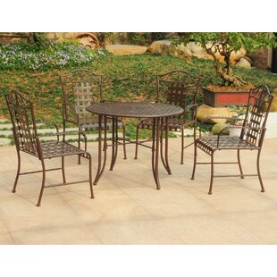 Nocona 5 Piece Outdoor Dining Set