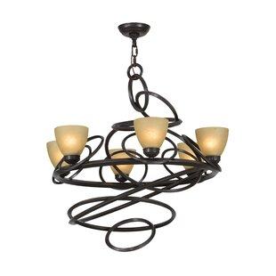 Meyda Tiffany Anneau 6-Light Shaded Chandelier