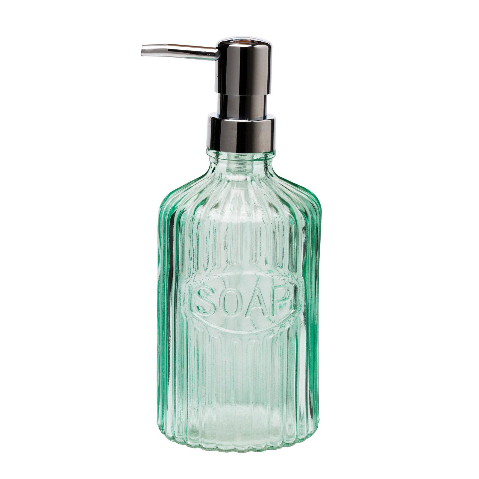 Ophelia Co Wiesner Basin Glass Pump Soap Dispenser Reviews Wayfair