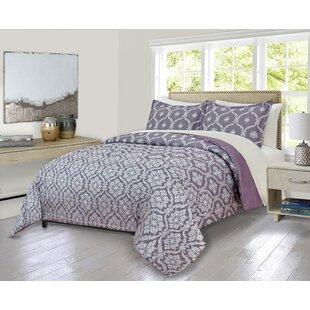 House of Hampton Louth Cartouche Comforter Set