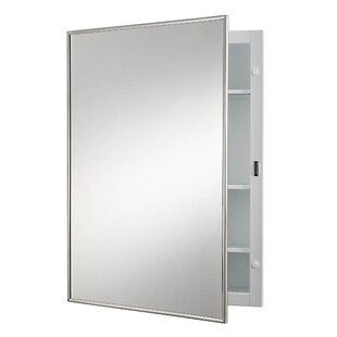 Read Reviews Styleline Classic 16 x 22 Recessed Medicine Cabinet By Jensen