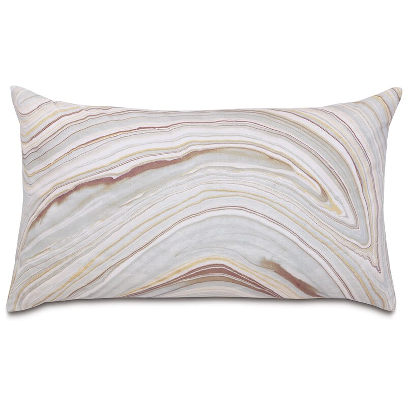 Eastern Accents Geode Luxe Mineral Cotton Abstract Lumbar Pillow Wayfair