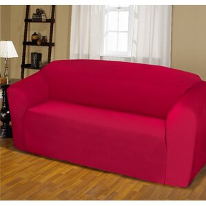Jersey Box Cushion Sofa Slipcover by K..