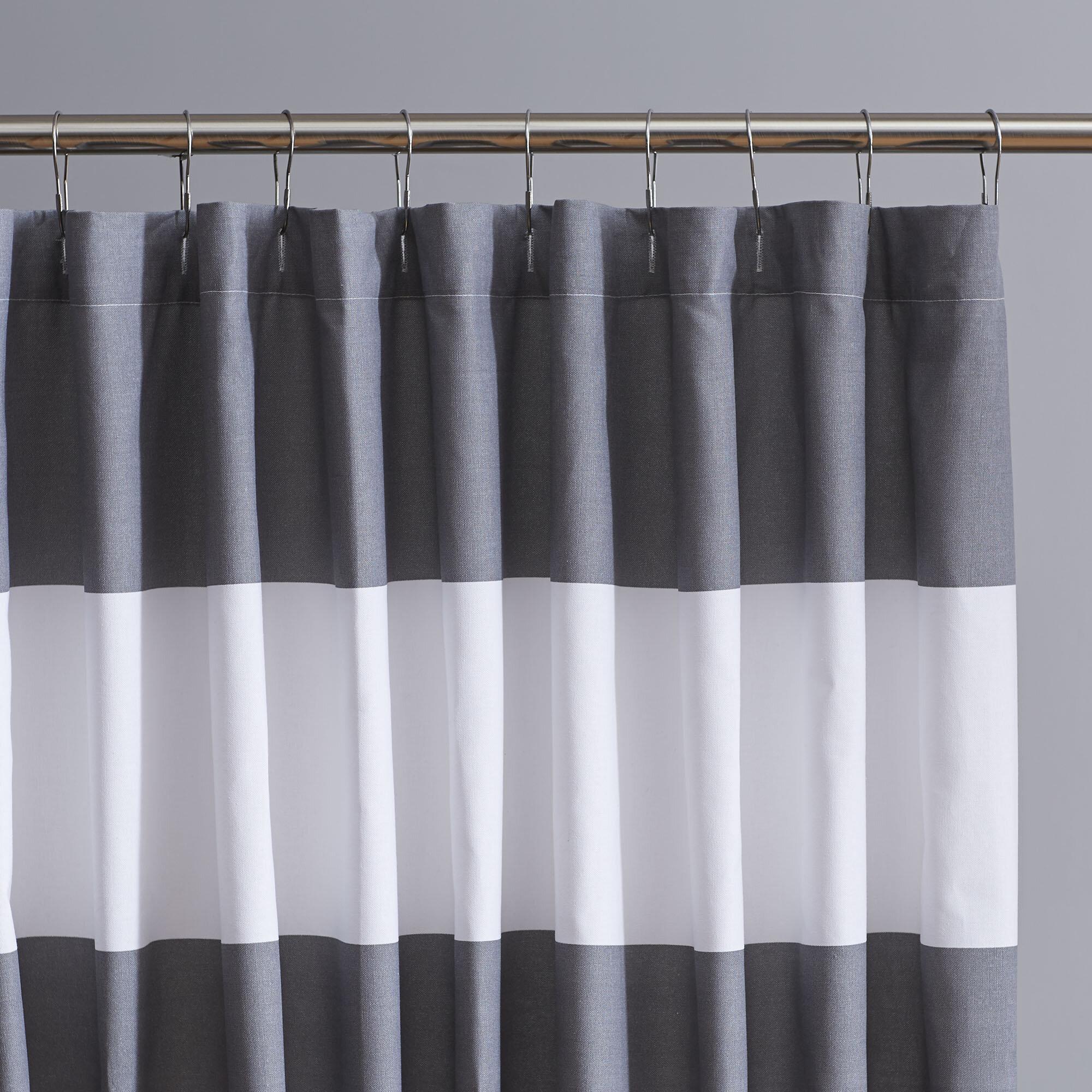 Breakwater Bay Galgano Striped Shower Curtain Reviews