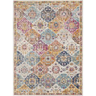 Check Prices Hillsby Orange/Saffron Area Rug By Mistana