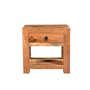 Tallulah Seesham End Table by Millwood Pines