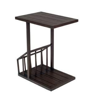 Harmony C Magazine Rack Table
