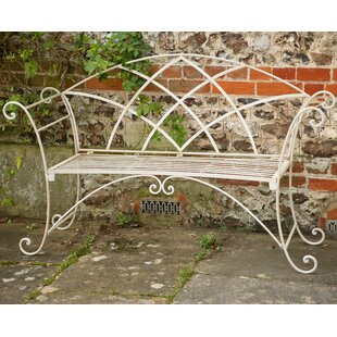 Herzog Iron Bench By Sol 72 Outdoor