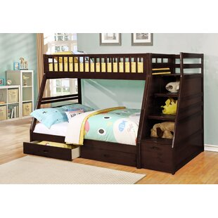Pierre Twin Over Full Bunk Bed with Drawers by Viv + Rae