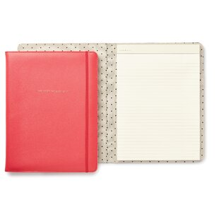 kate spade new york Notepad Folio, She Wrote the Book On It