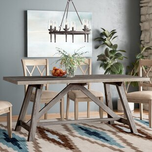 X Dining Table Wayfair - Wayfair trestle table