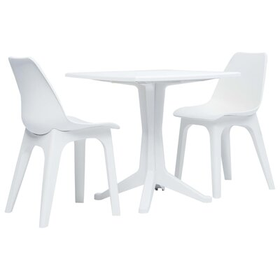 Shuaib 3 Piece Bistro Set by Latitude Run Cool