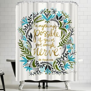 Anything is Possible Single Shower Curtain