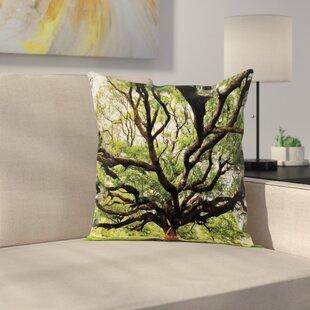 Fantastic Birch Tree Pillow | Wayfair LU75
