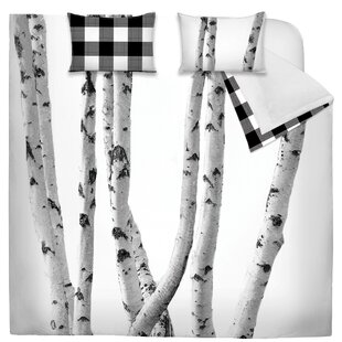 Dias Printed Birch Reversible Comforter Set