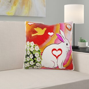 Tehama Love Bunny Pillow Cover