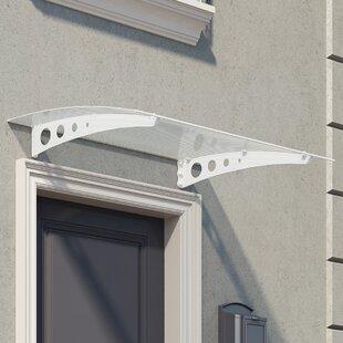 Lyra 1.35 M W X 0.9 M D Door Canopy By Palram