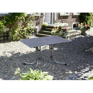 Rock Folding Steel Dining Table Image