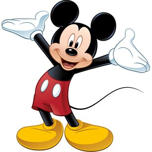 Disney Mickey And Friends Mickey Mouse Room Makeover Wall Decal