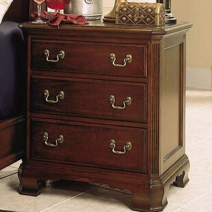 Staas 3 Drawer Nightstand