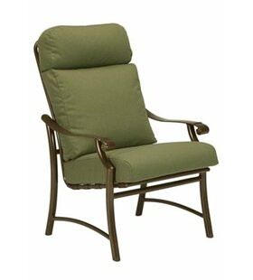 Montreux II Patio Dining Chair with Cushion by Tropitone