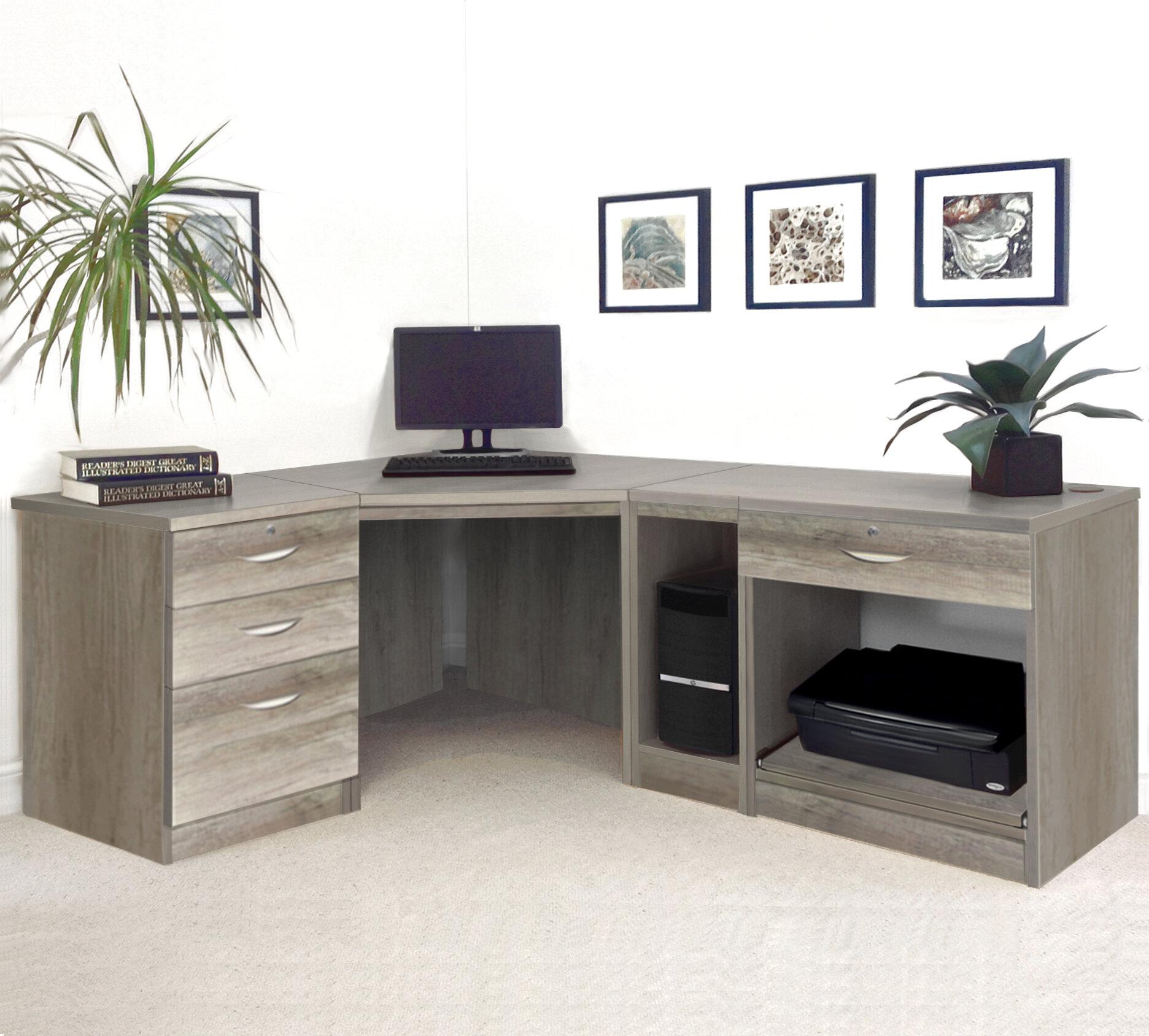 Ebern Designs Walshaw L Shape Computer Desk Reviews