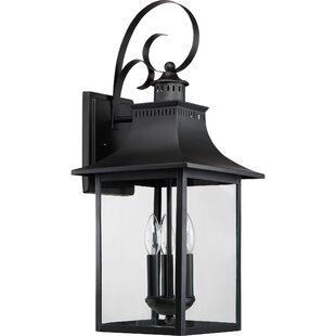 Alcott Hill Tewksbury 3-Light Outdoor Wall Lantern