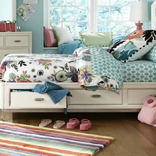 Harriet Bee Jami Mate's Bed with Drawers