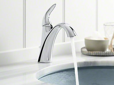 K-45800-4-2BZ,BN,CP Kohler Alteo Single-Handle Bathroom Sink Faucet ...