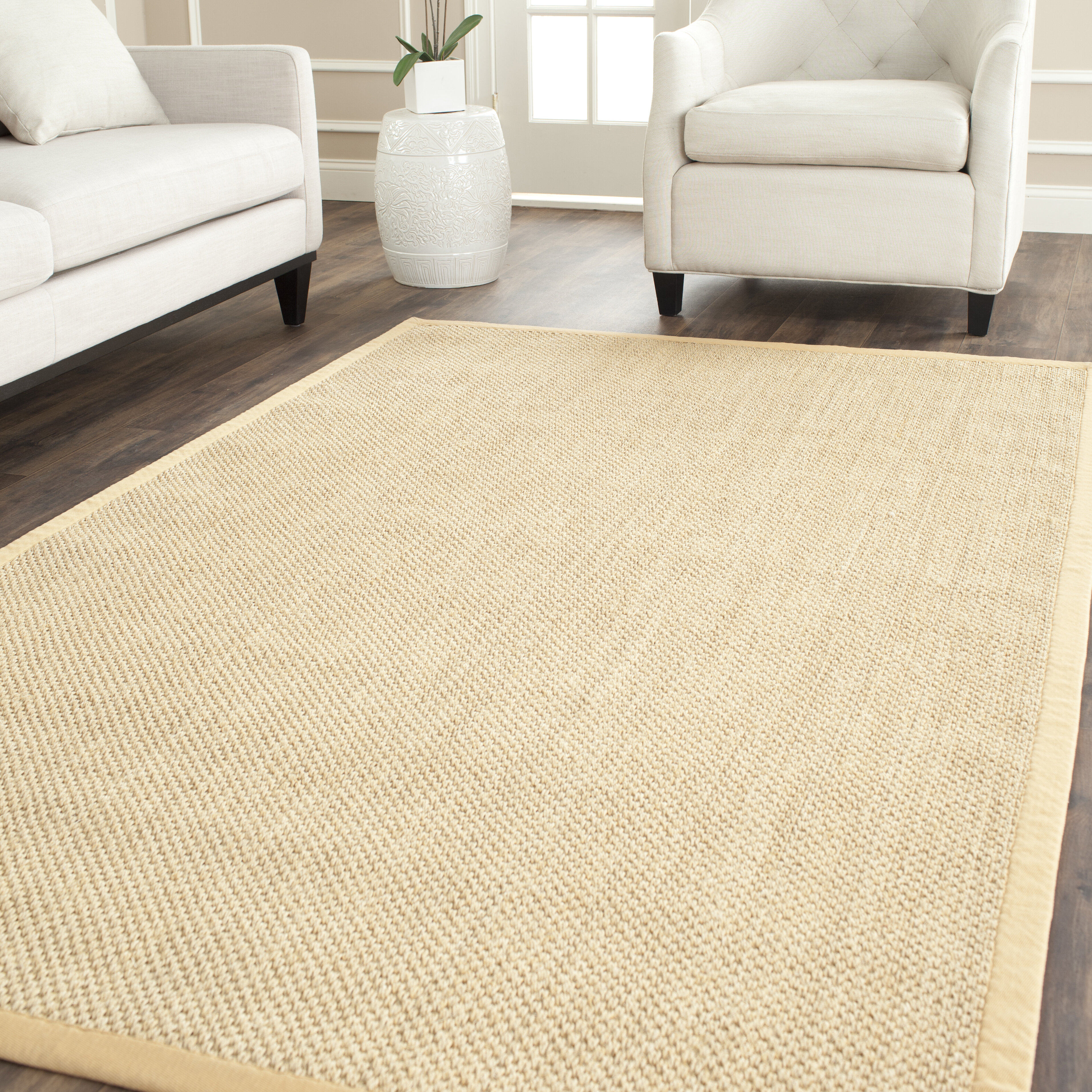 Andover Mills Jeremy Jute Sisal Maize Wheat Area Rug Reviews Wayfair