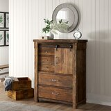 Wauseon 5 Drawer Gentleman's Chest by Three Posts