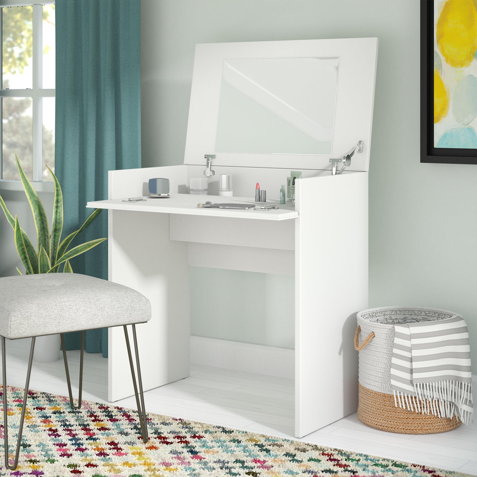 Zipcode Design Chelsey Vanity with Mirror & Reviews | Wayfair