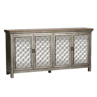 Continuum Copper 4 Door Accent Cabinet by Ophelia & Co.