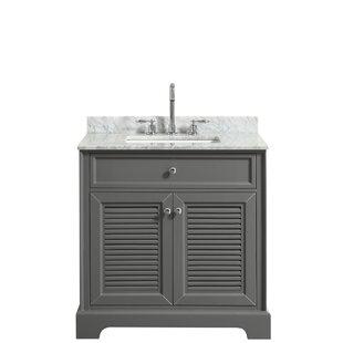 Tamara 30 Single Dark Gray Bathroom Vanity Set By Wyndham Collection
