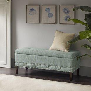 House of Hampton Eris Upholstered Storage Bench