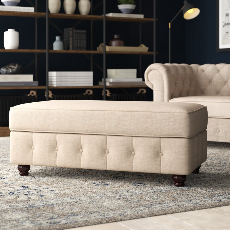 Quitaque Upholstered Storage Bench