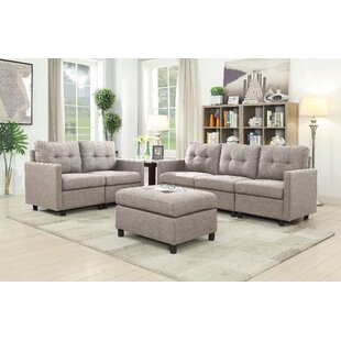 Price Check Signe 3 Piece Living Room Set by Brayden Studio Reviews (2019) & Buyer's Guide