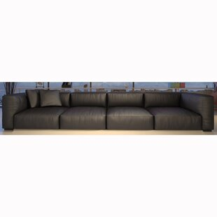 Samiyah Leather Sectional