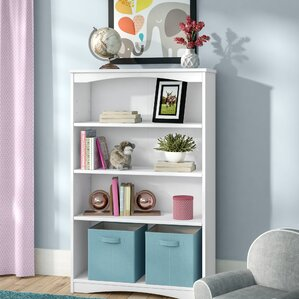 Beedle Wooden Bookcase by Three Posts