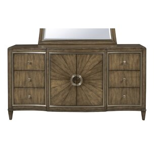 Newt 6 Drawer Combo Dresser by House of Hampton
