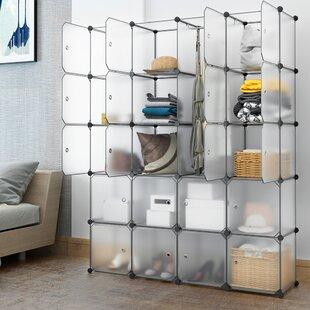 Carmona 58 W 20 Cubby Shelving Closet System